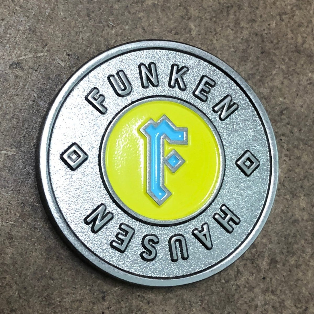 Coins & Challenge Coins 2D - Double Sided - Soft Enamel - Alchemy Merch