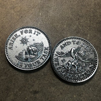 Coins & Challenge Coins 3D - Double Sided - Alchemy Merch