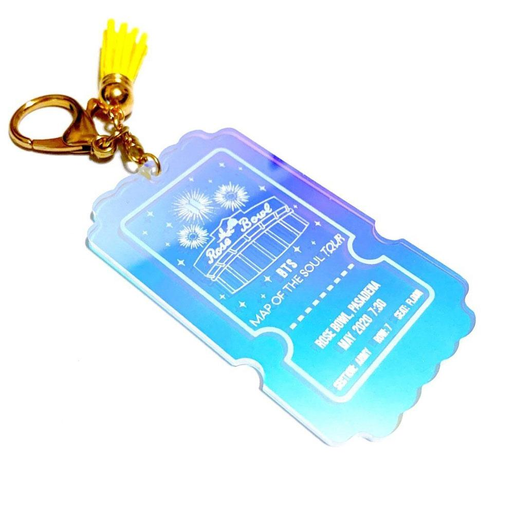 Holographic Acrylic Keychains - Alchemy Merch
