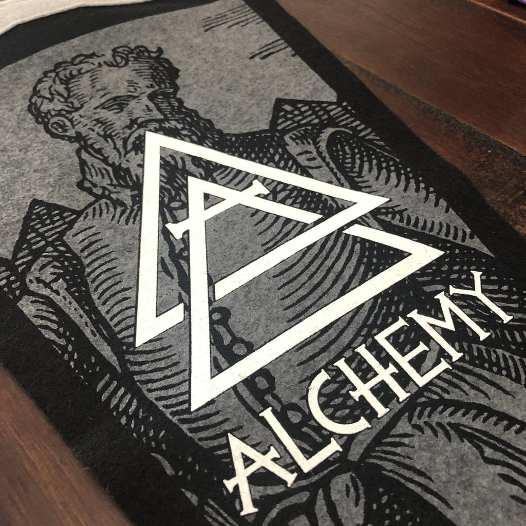 "Oxford Pennant - 9"" x 27"" - Made in the USA - Alchemy Merch"