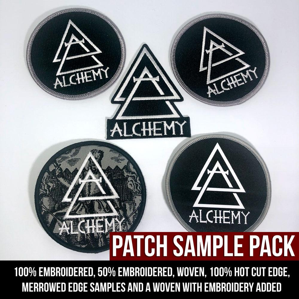 Patches - Sample Pack - 5 patch styles - Alchemy Merch