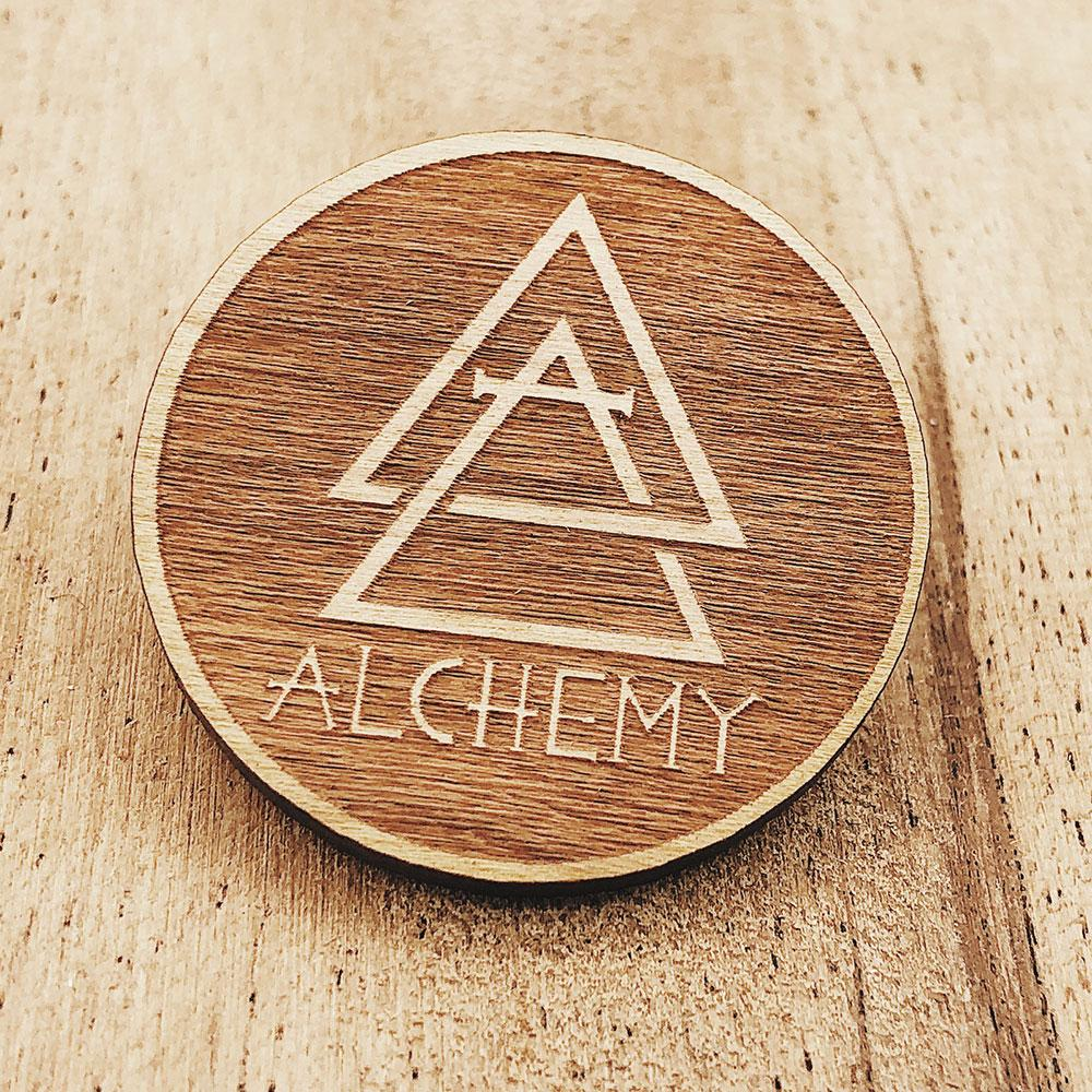 Pin Game Strong Combo Bundle - 100 hard enamel + 100 soft enamel + 100 acrylic pins + 100 wooden pins - Alchemy Merch