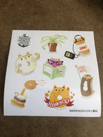 Sticker Sheets - Vinyl (Glossy or Matte) Kiss Cut - Alchemy Merch