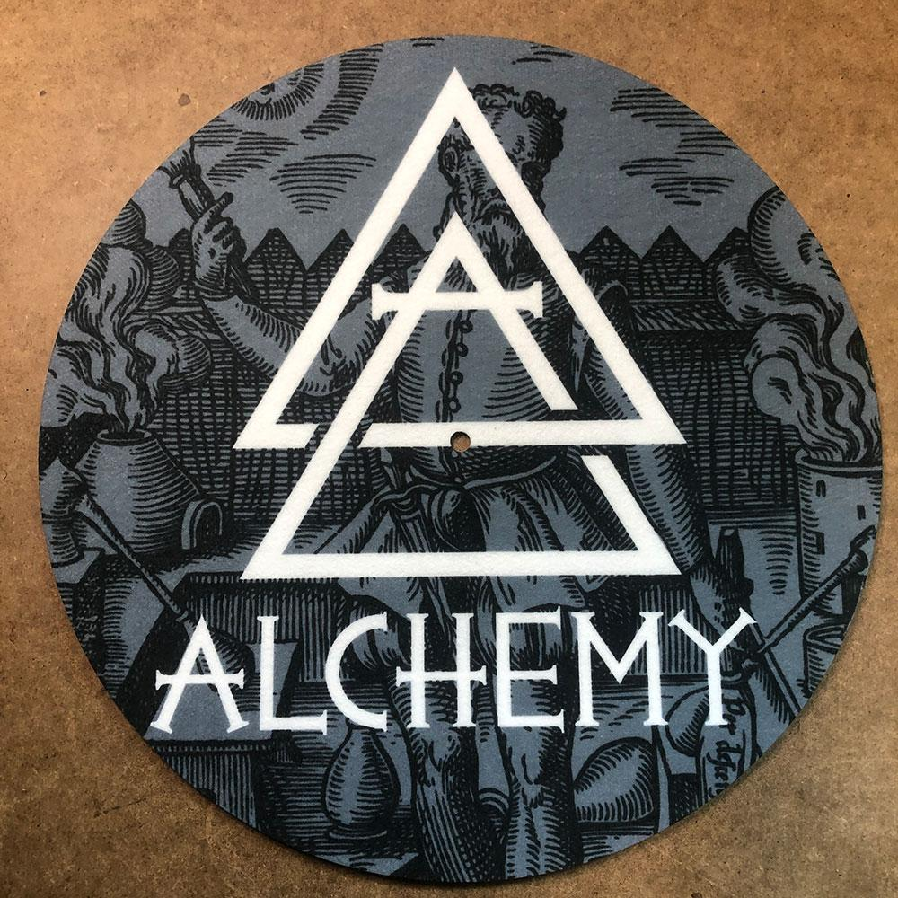 Vinyl Record Turntable Slip Mats - Sublimated (Full Color) - Alchemy Merch