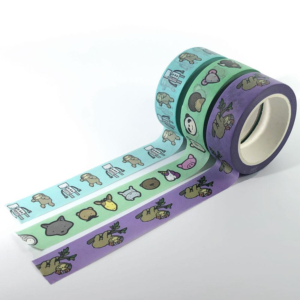 Washi Tape - Full color CMYK - 10m Long Rolls - Alchemy Merch