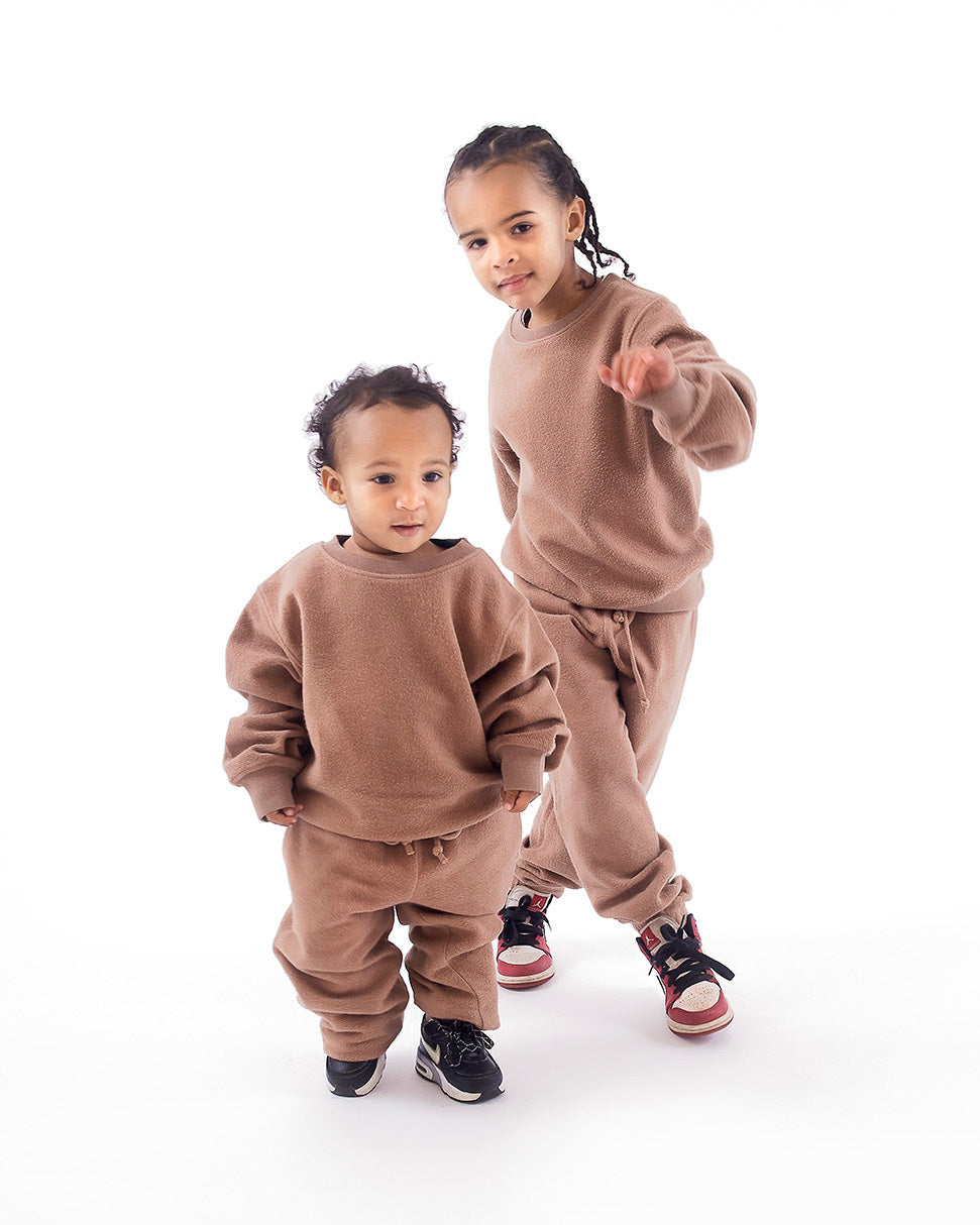 Sweater Pullover Teddy browns boys kids