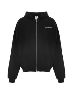 UNISEX ZIPPER JACKET BLACK