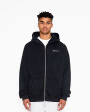 Load image into Gallery viewer, 90'S HOODIE ZIPPER JACKET - KAPUZENJACKE BLACK