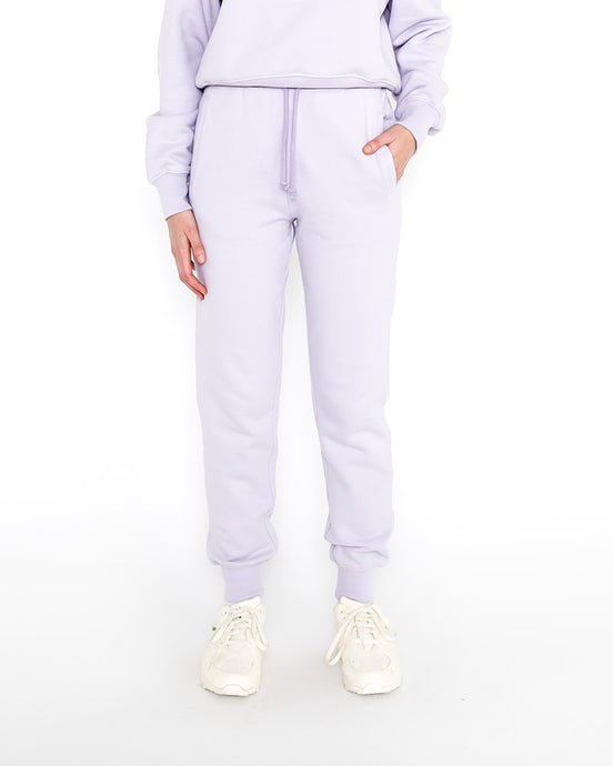 WOMAN SWEATPANTS NO 2 LAVENDER BLUE J