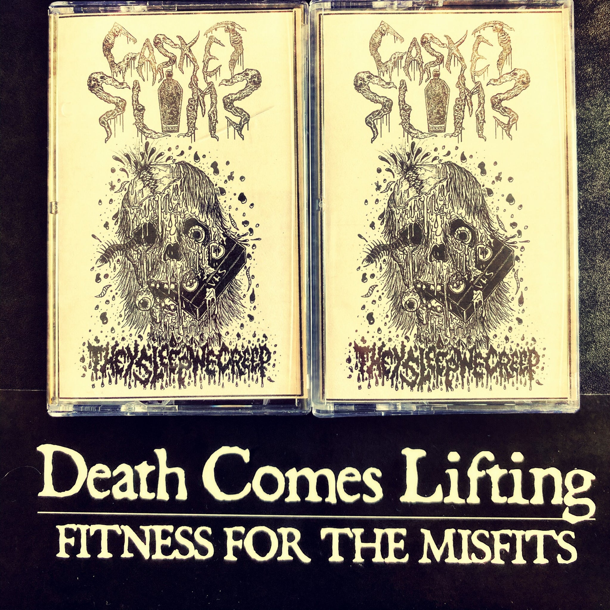 THEY SLEEP WE CREEP - CASKET SLIME (CASSETTE)