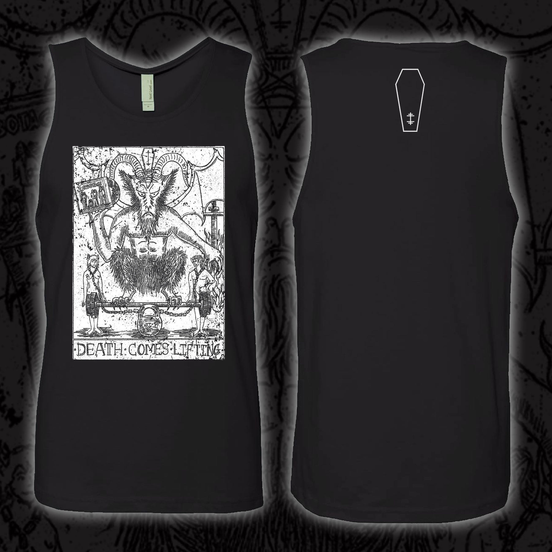 SABBATH SUNDAY IRON WORSHIP (LUCIFER TAROT CARD) - TANK