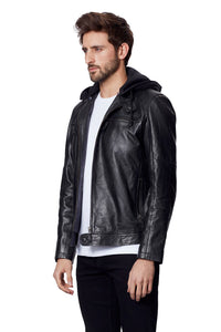 ANTON LEATHER JACKET BLACK