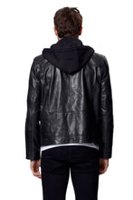 Load image into Gallery viewer, ANTON LEATHER JACKET BLACK