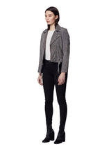 Load image into Gallery viewer, TAYLOR SUEDE JACKET GREY