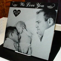 Family Photo Marble Tile - Enchanted Memories, Custom Engraving & Unique Gifts