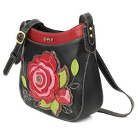 CHALA Rose Crescent Crossbody - Enchanted Memories, Custom Engraving & Unique Gifts