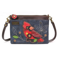 CHALA Mini Crossbody Cardinal - Enchanted Memories, Custom Engraving & Unique Gifts