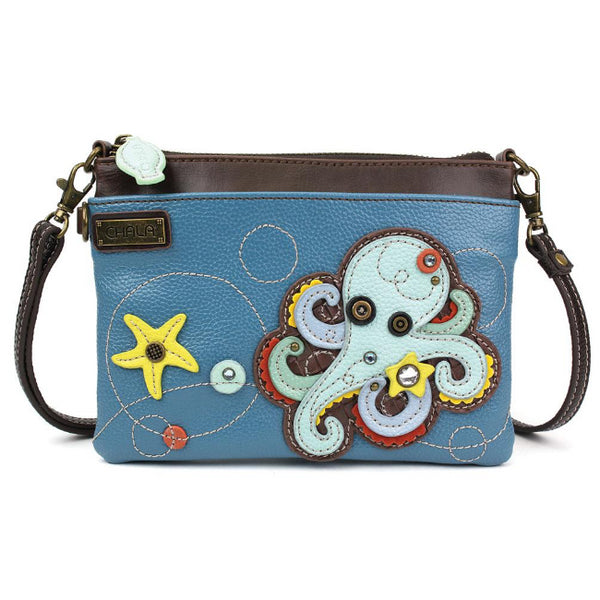 CHALA Mini Crossbody Octopus - Enchanted Memories, Custom Engraving & Unique Gifts