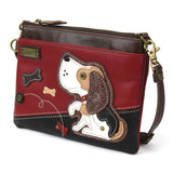 CHALA Mini Crossbody Beagle Dog #2 - Enchanted Memories, Custom Engraving & Unique Gifts
