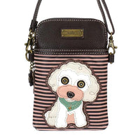 CHALA Crossbody Cell Phone Case - Poodle - Enchanted Memories, Custom Engraving & Unique Gifts