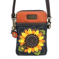 CHALA Crossbody Cell Phone Case - Sunflower - Enchanted Memories, Custom Engraving & Unique Gifts