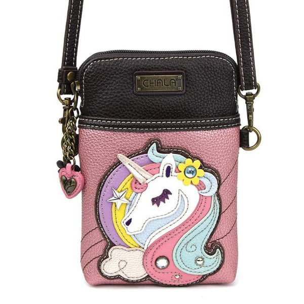 CHALA Crossbody Cell Phone Case - Unicorn - Enchanted Memories, Custom Engraving & Unique Gifts