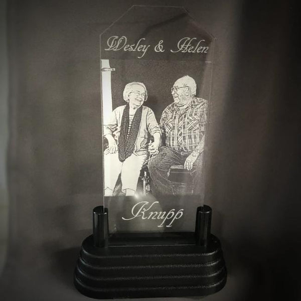 Anniversary Light Up Photo Gift Acrylic Special Photo Anniversary Gift for Couples in Love Anniversary Celebration