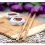 Bamboo Twist Chopsticks Perfect Gift for the Cook | Enchanted Memories, Custom Engraving & Unique Gifts
