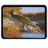 Bass Fishing Custom Trailer Hitch Cover with Your Favorite Fishing Image