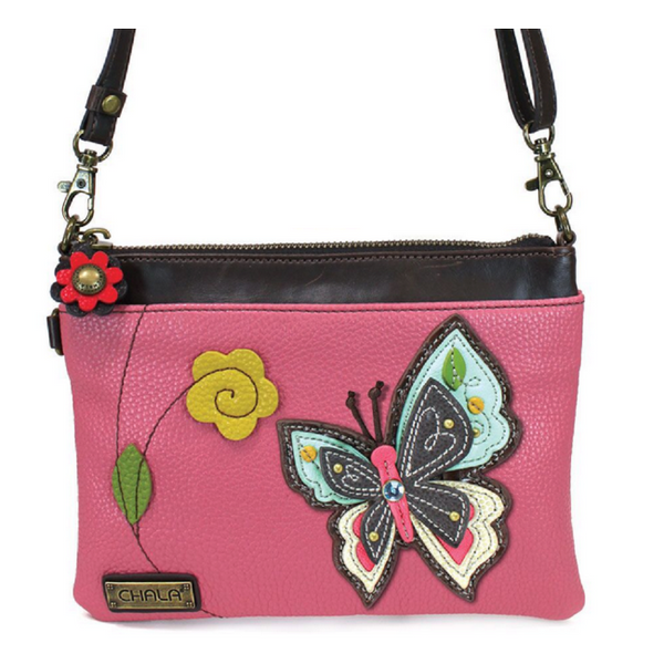 CHALA Mini Crossbody Butterfly - Enchanted Memories, Custom Engraving & Unique Gifts