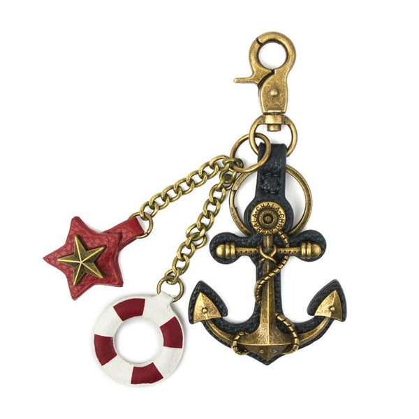 CHALA Anchor Keychain Purse Charm Affordable Nautical Ocean Lovers Gift | Enchanted Memories