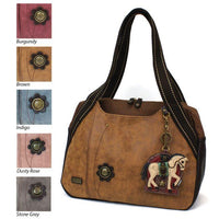 CHALA Bowling Bag Handbag Horse Animal Themed Purse