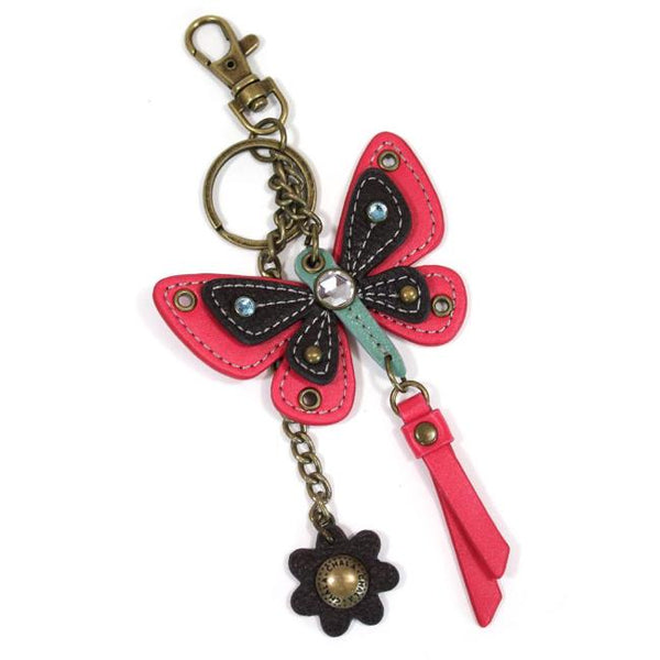 CHALA Butterfly Keychain with Flower | Enchanted Memories