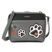 CHALA Champion Organizer Crossbody Purse with Paw Print | Enchanted Memories