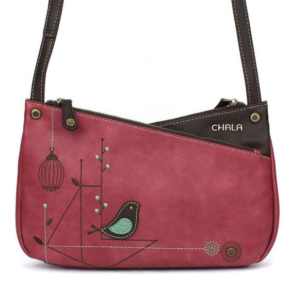 CHALA Criss Cross Handbag with Bird | Enchanted Memories