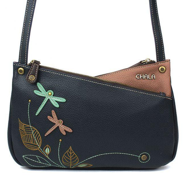 CHALA Criss Cross Handbag with Dragonflies | Enchanted Memories