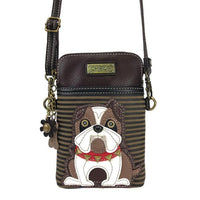 CHALA English Bulldog Cell Phone Crossbody Shoulderbag | Enchanted Memories