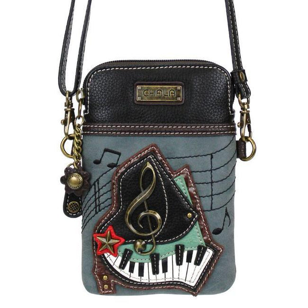 CHALA Piano Cellphone Case Crossbody Purse for Music Lovers | Enchanted Memories