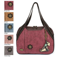 CHALA Schnauzer Dog Bowling Bag Handbag Animal Theme Purse
