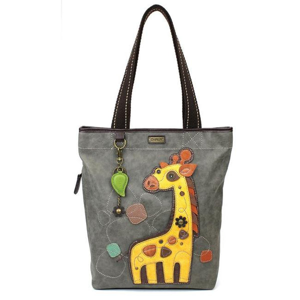 CHALA Everyday Zip Tote - Giraffe - Enchanted Memories, Custom Engraving & Unique Gifts