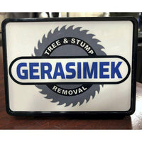 Custom Logo Branded Trailer Hitch Cover for Your Business Work Truck