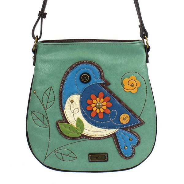 CHALA Deluxe Crossbody Bluebird - Enchanted Memories, Custom Engraving & Unique Gifts