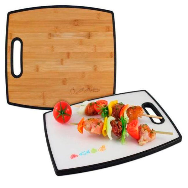 Engraved Bamboo Cutting Board with Poly Perfect Gift for the Chef | Enchanted Memories, Custom Engraving & Unique Gifts