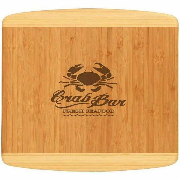 Engraved Kauai Bamboo Cutting Board Perfect for Chef Gifts | Enchanted Memories, Custom Engraving & Unique Gifts