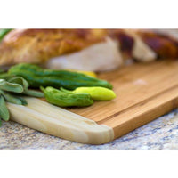 Engraved Kona Groove Bamboo Cutting Board Perfect for Chef Gifts | Enchanted Memories, Custom Engraving & Unique Gifts