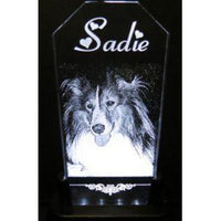 Engraved Pet Photo Gift Lights Up In Memory Of | Enchanted Memories, Custom Engraving & Unique Gifts