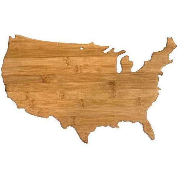 Engraved USA America Bamboo Cutting Board Perfect for Chef Gifts | Enchanted Memories, Custom Engraving & Unique Gifts
