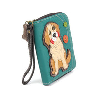 CHALA Golden Retriever Wallet - Enchanted Memories, Custom Engraving & Unique Gifts