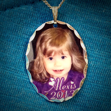 Photo Pendant Necklace - Enchanted Memories, Custom Engraving & Unique Gifts