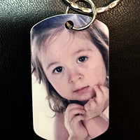 Personalized Photo Dog Tag - Enchanted Memories, Custom Engraving & Unique Gifts